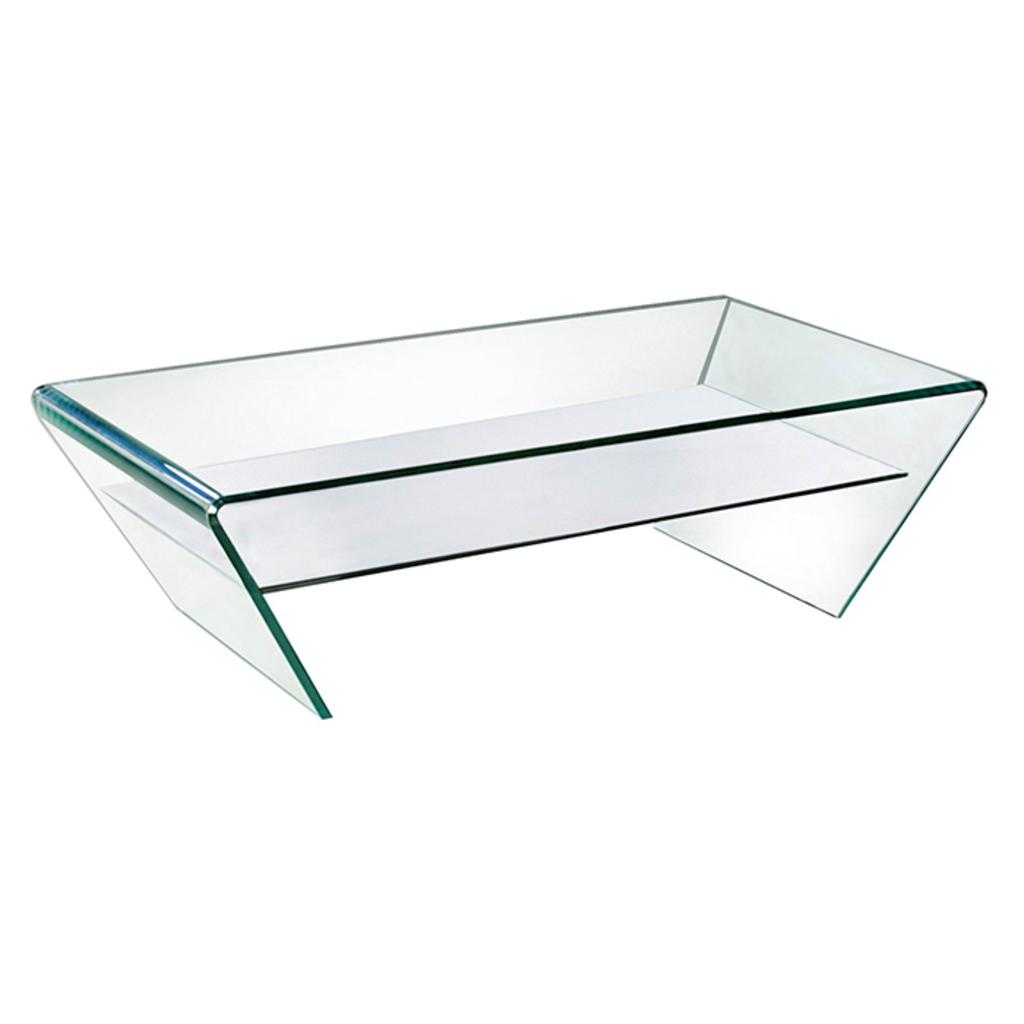 Prijsdaler glazen salontafel hester 130x70cm van aspect for Aspect design